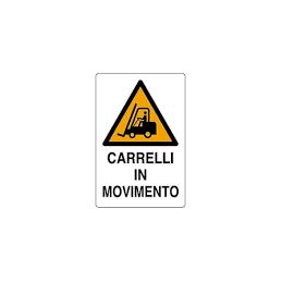CARTELLO CARRELLI IN...